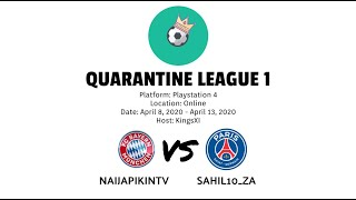 Quarantine League 1 | Naijapikintv vs Sahil10_za | HD