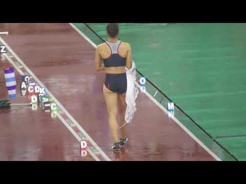 【第103回日本陸上競技選手権大会】どしゃ降り女子走幅跳。2019年6月28日。