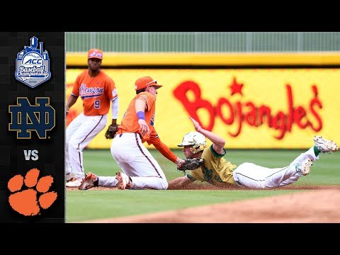 Clemson vs. Notre Dame ACC Baseball Championship Highlights (2018)