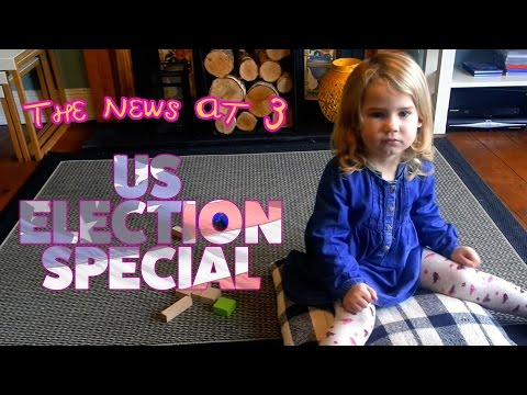 US Election 2016: A Scottish three year old's take...