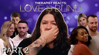 Therapist Reacts: Love is Blind Episodes 5-10