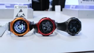 Casio WSD-F10 Hands-On @ CES 2016(If you're like me and you grew up with a Casio on your wrist, you might have also wished the company one day decided to make a modern smartwatch, until they ..., 2016-01-17T14:20:17.000Z)