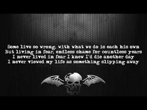 Avenged Sevenfold - Unbound (The Wild Ride) [Lyrics on screen] [Full HD]