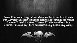 Avenged Sevenfold - Unbound (The Wild Ride) [Lyrics on screen] [Full HD]