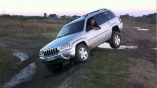 jeep wj lift 2 test quadradrive