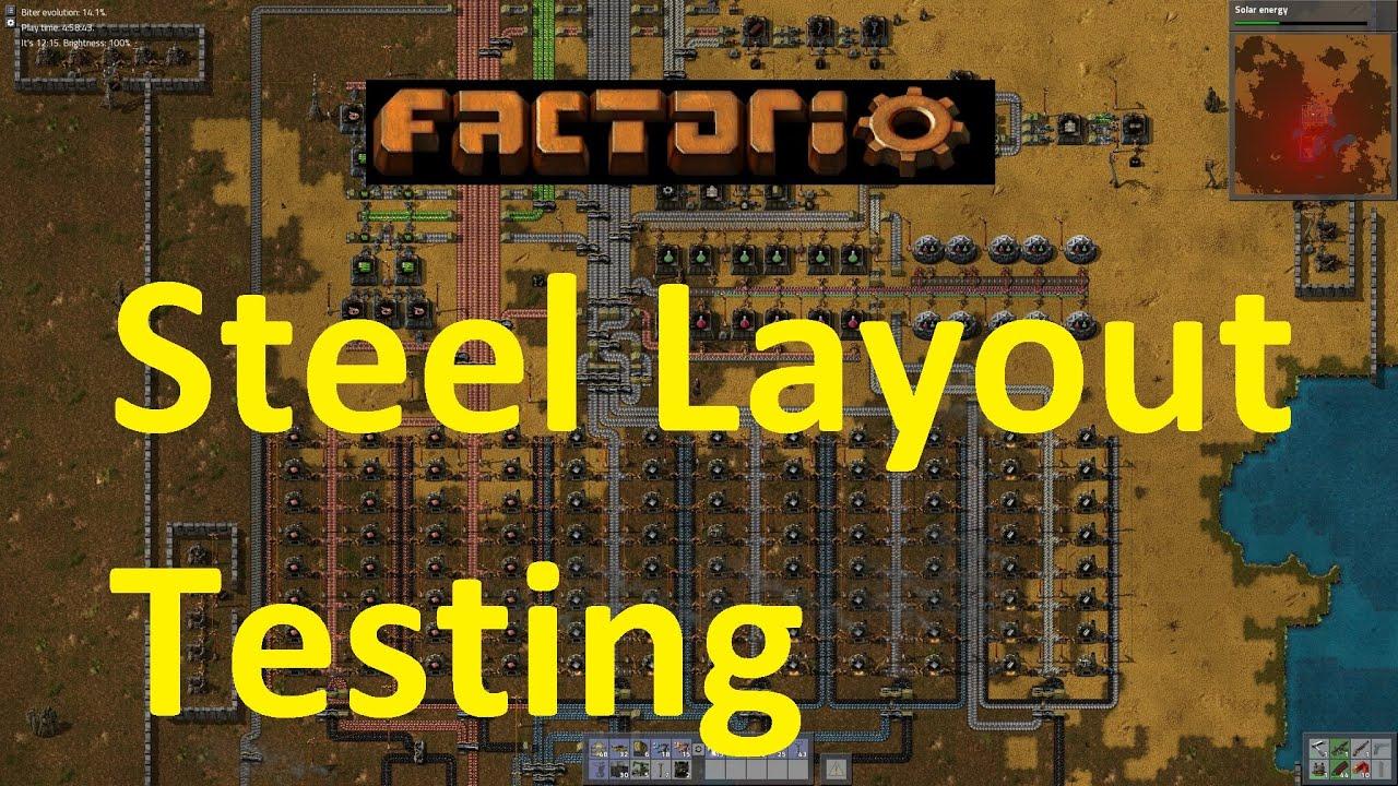Factorio - Steel Production Methods