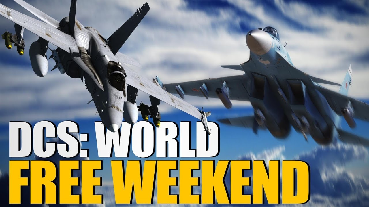 DCS World Hornet, Persian Gulf Map, and Su-33 Free Weekend! - YouTube
