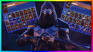 """Before You Grind """"ENFORCER"""" - All Skins and Back Bling's Combinations in Fortnite (ROAD TRIP REWARD)"""