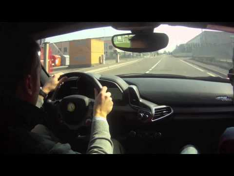 Ferrari test drive - TopLife Concierge