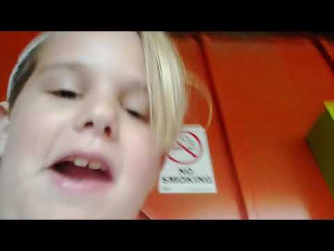 Riverfield School Carnival: Inside the Fun House with Gia & Ella & Chad oh My!