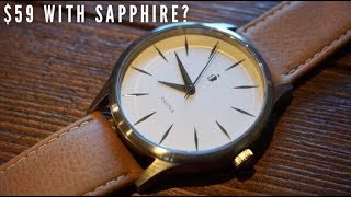 Before you buy a Daniel Wellington or MVMT - WATCH THIS - Castle Corbel Watch Review $59