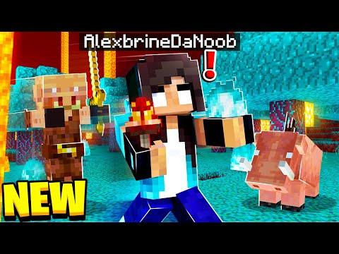Noob Girl Explores NEW Nether Update In Minecraft