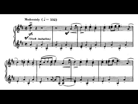 Leroy Anderson - The Syncopated Clock (audio + sheet music)