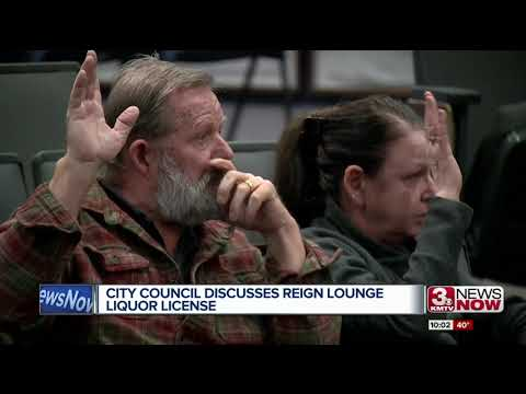 Reign Lounge liquor license up for discussion at Omaha City Council meeting