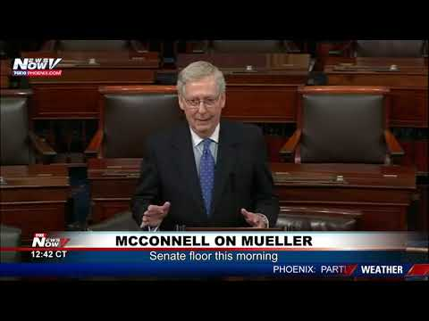 MCCONNELL ON MUELLER: Blistering Senate floor speech - 'Case closed'