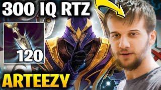 Arteezy Silencer Carry Super High IQ 120 Intelligence Stolen