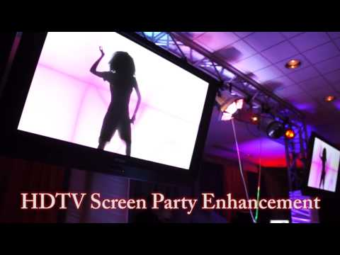 HDTV Screen Party Enhancement | Boppers Events
