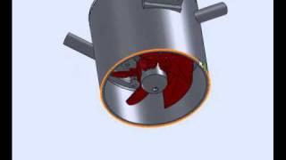 Kaplan Turbine NEU.