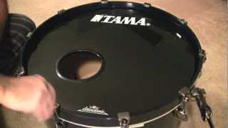 How I tune my Bass Drum