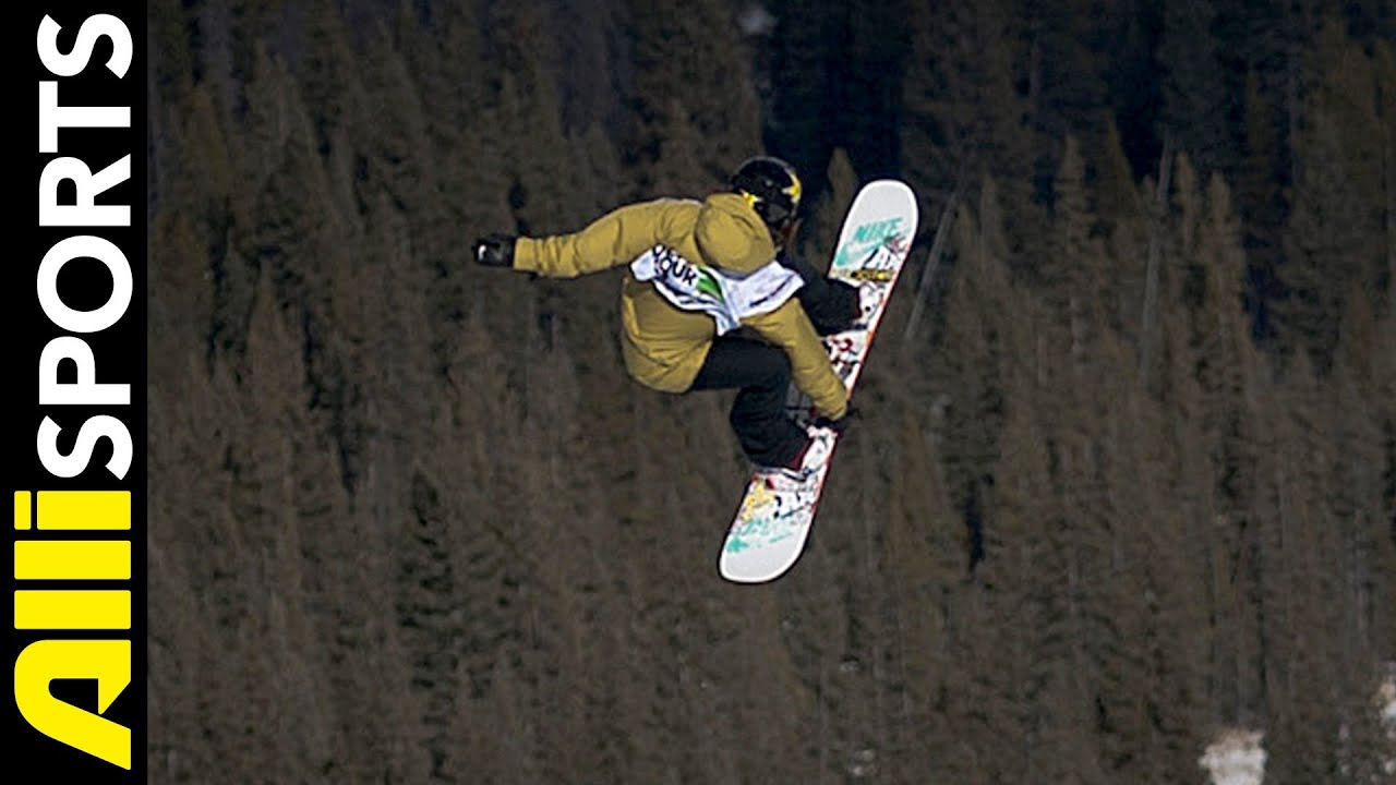 how to get on your snowboard steep