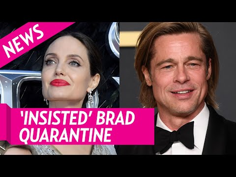 Angelina Jolie 'Insisted' Brad Pitt Quarantine After France Trip