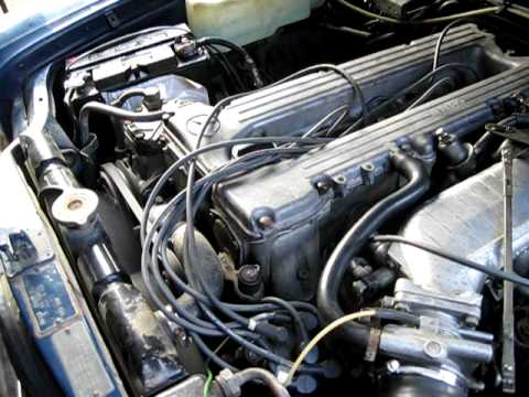 72 Mercedes Benz 280CE 4 sd manual - YouTube on