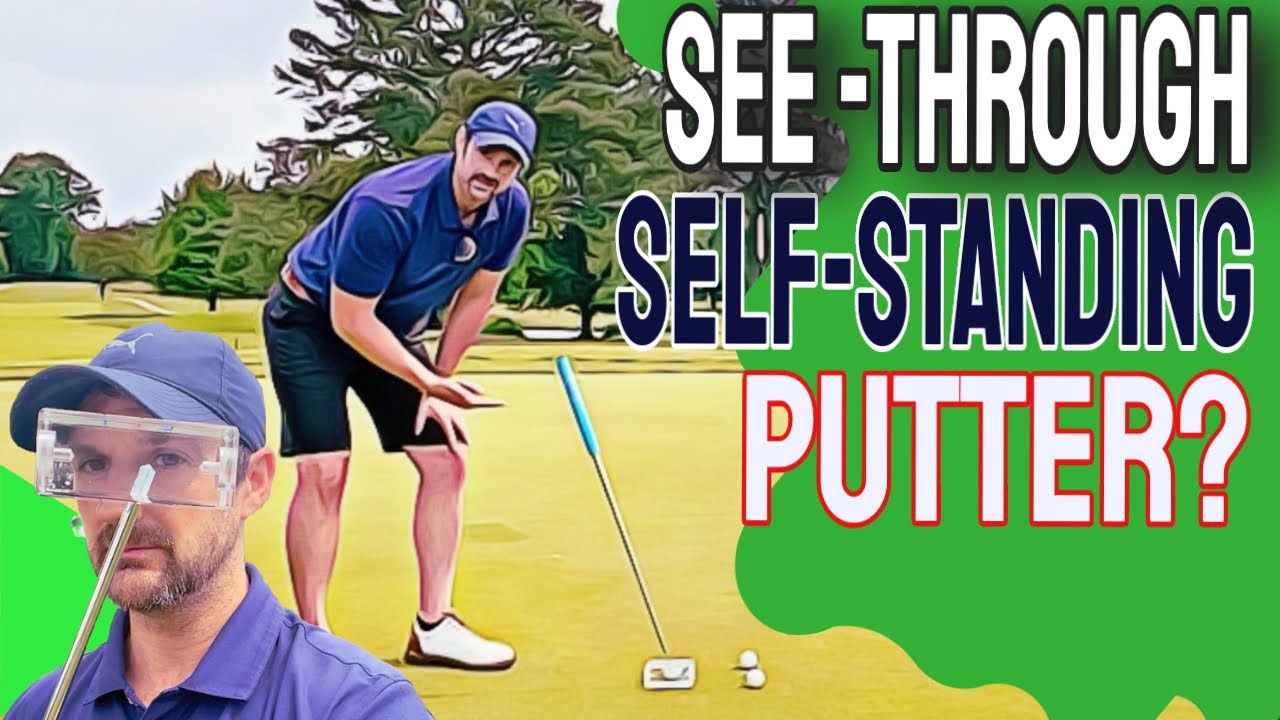 Tried Everything For Your Putting Stroke? | Self Standing Bizarre Putter Review
