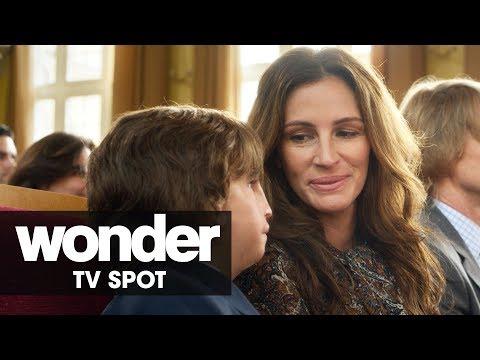 """Wonder (2017 Movie) Official TV Spot - """"A Triumph"""" – Julia Roberts, Owen Wilson"""