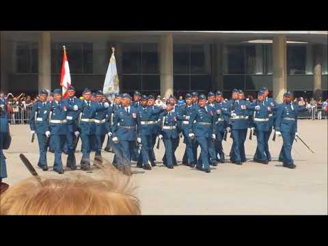RCAF Receives New Colours 2017 (Highlights)