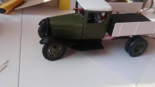 ГАЗ АА. Полуторка 2. Проба кузова з відкриваються бортами.