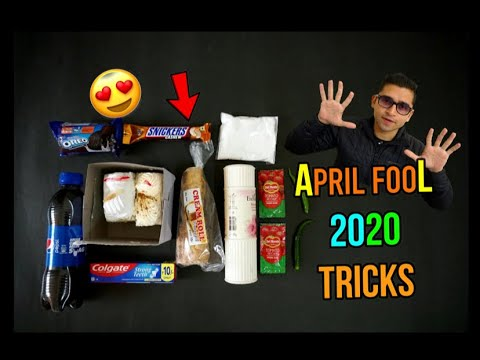 APRIL FOOL 2020 - EASY AND AMAZING TRICKS TO FOOL FRIENDS, FAMILY🤣🤣 MUST TRY TRICKS 😍😍
