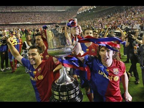 Barcelona 4 Athletic 1 | Final Copa del Rey 08-09 | Emisión TVE
