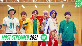 Spotify Top 60 Most Streamed Kpop Song of 2021 | August - most listened spotify artist right now