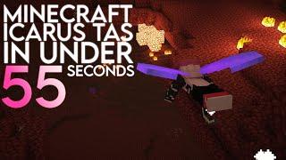 Minecraft Icarus on the 1.17 SSG Seed [TAS]