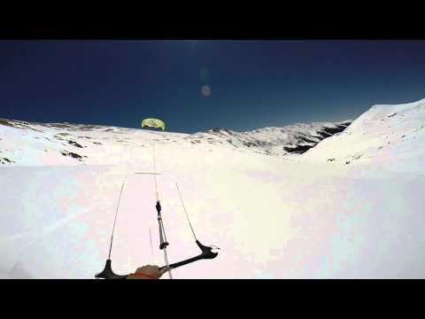Kiteboarding Loveland Pass west and east 04-12-14