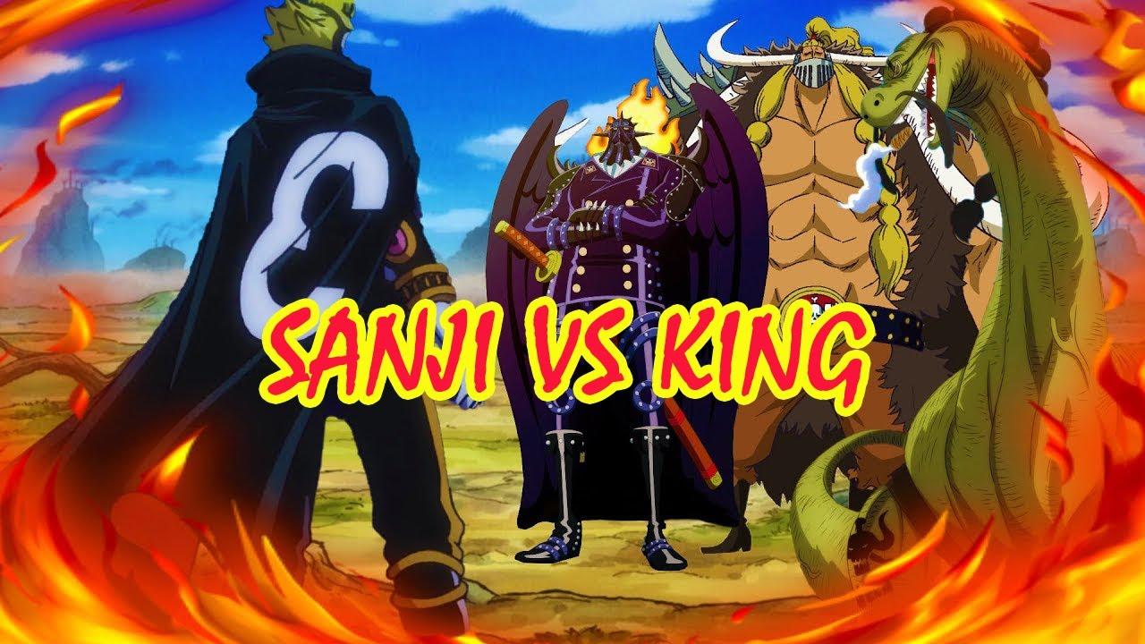 Sanji Vs King Dan Brook Vs Big Mom One Piece Youtube