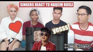 SINGERS REACT   Haqiem Rusli feat Aman Ra - Jatuh Bangun