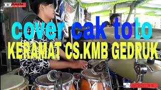 KERAMAT COVER CAK TOTO CS.KMB GEDRUK