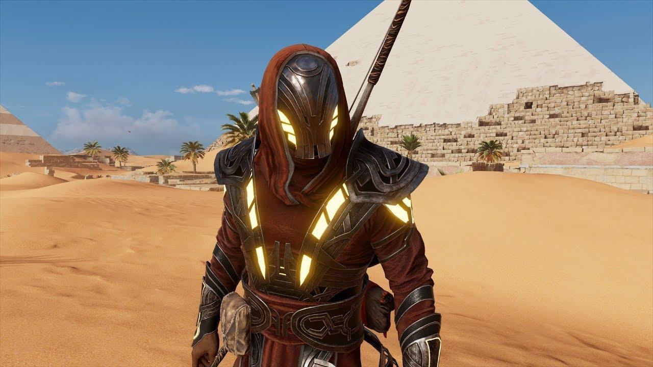 assassins creed origins isu armor quest