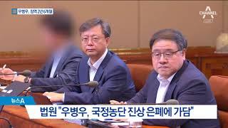 """""""국정농단 은폐 가담""""…우병우 징역 2년6개월"""