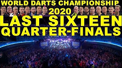 L16 QF'S 2020 World Darts Championship
