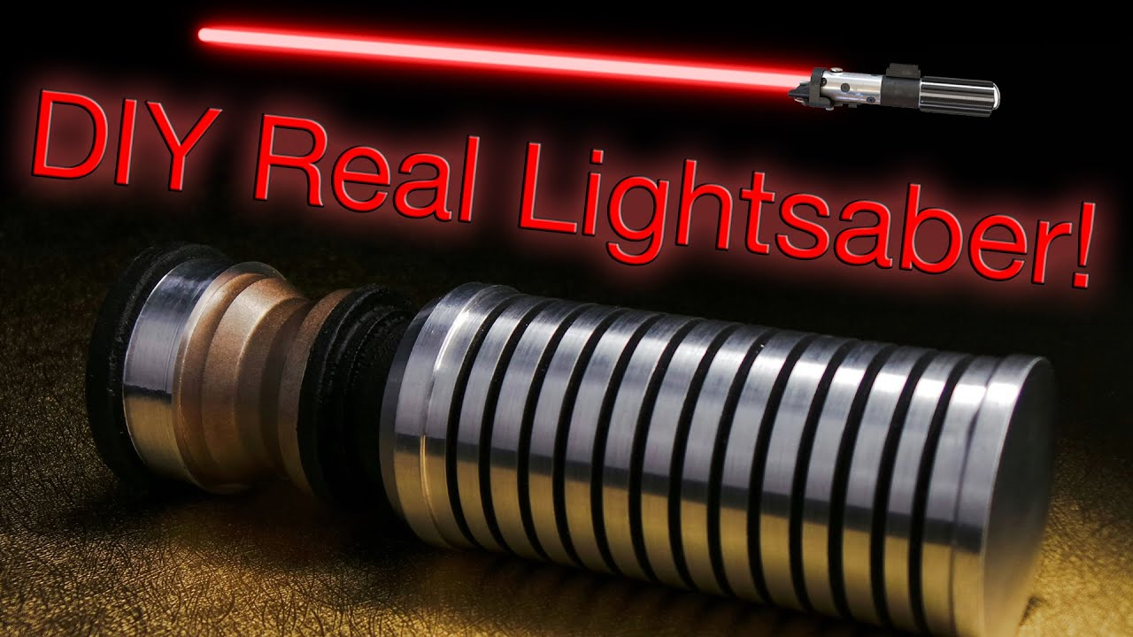 How To Make A Real Lightsaber Handle Youtube