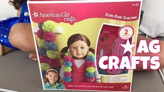 American Girl Doll Pom Poms Craft Set
