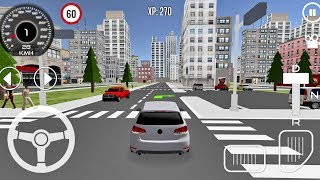 Driving School 3D #1 - Parking Game Android IOS gameplay