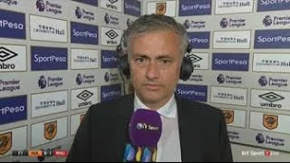 José Mourinho Post Match Interview - Hull City 0-1 Manchester United