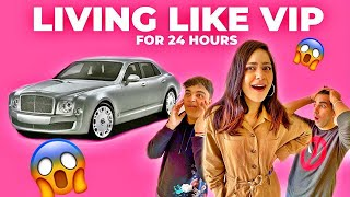 LIVING LIKE VIP for 24 Hours | Rimorav Vlogs