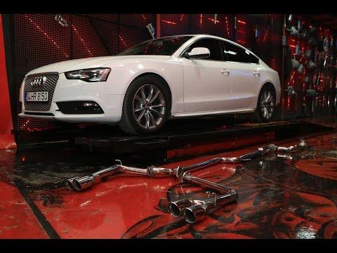 Audi A5 2.0 Tdi, Dizel Performans Egzoz Sesi