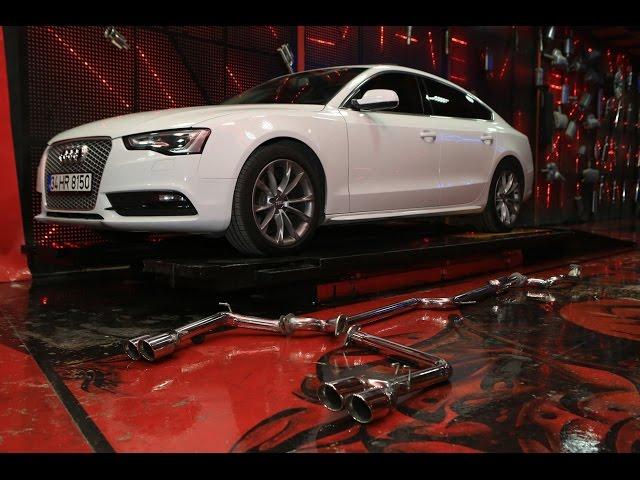 Audi A5 2.0 Dizel Egzoz Sesi