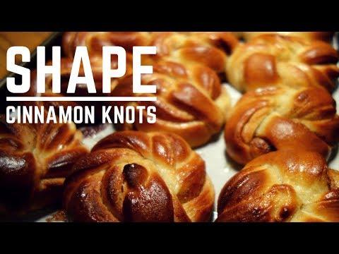 How to Shape Cinnamon Knots & Chelsea Buns