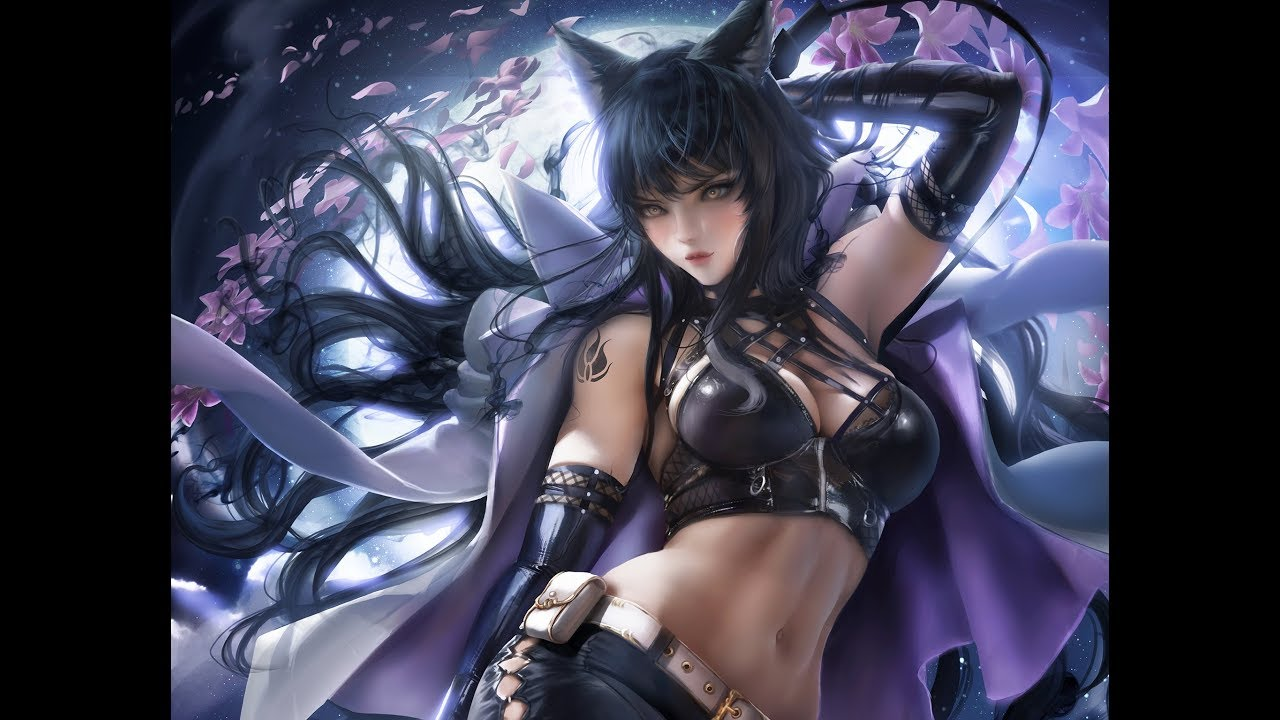 Paint the easy way ;-) — Blake is combat ready! It's the ...  |Rwby Blakes Glowing Paints